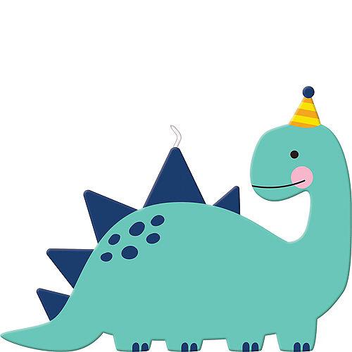 Dino-Mite Dinosaur Birthday Candle Image #1