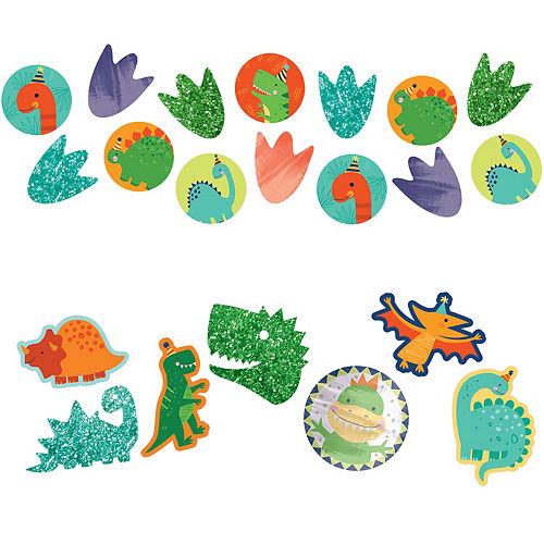 Giant Dino-Mite Confetti 48ct Image #1