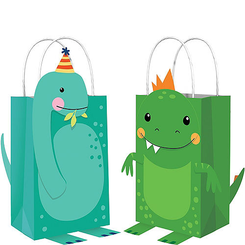 Dino-Mite Create Your Own Favor Bag Kit 8ct Image #1