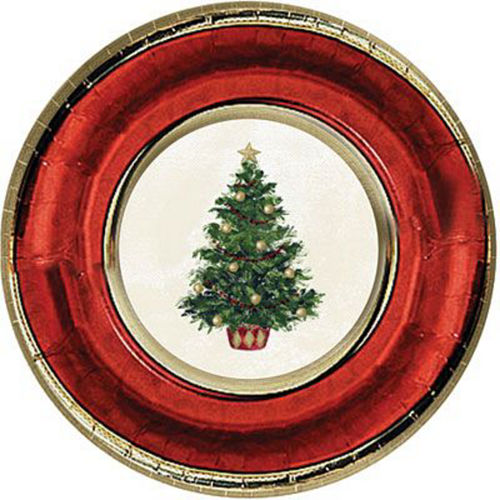 Classic Christmas Tree Tableware Kit for 56 Guests Image #2