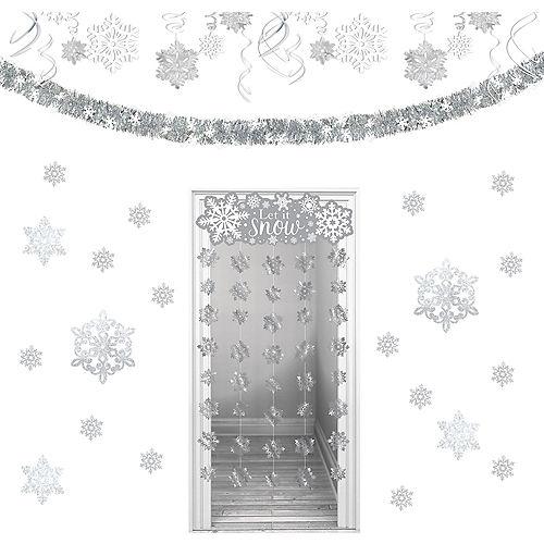 Let It Snow Snowflake Decorating Kit Image #1