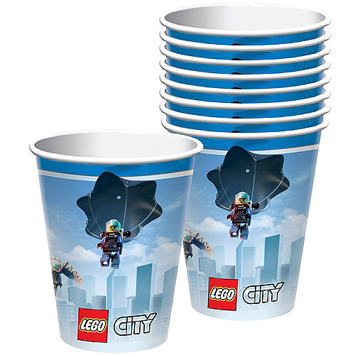 LEGO City Cups 8ct Image #1
