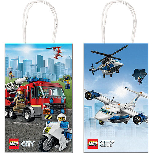 LEGO City Favor Bags 8ct Image #1