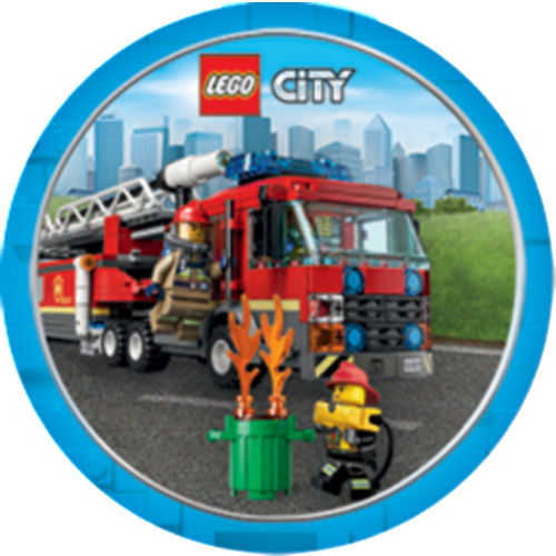 LEGO City Swirl Decorations 12ct Image #17