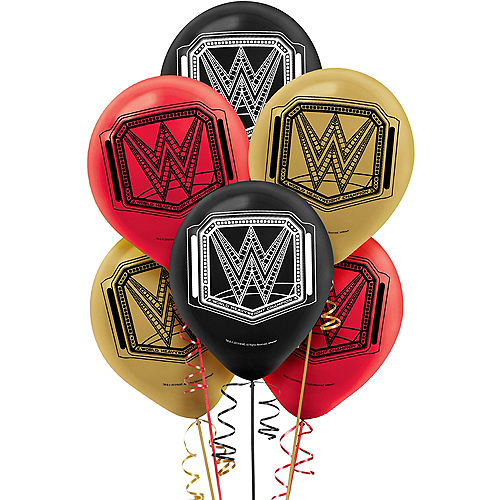 WWE Champion Latex Balloons 6ct Image #1