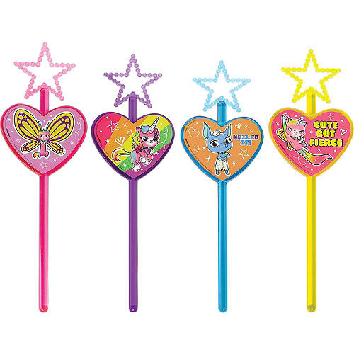 Rainbow Butterfly Unicorn Kitty Party Favor Kit for 8 Guests Image #4