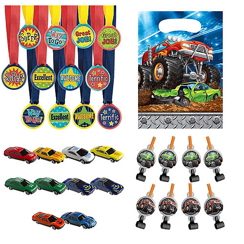 Monster Truck Party Favor Kit for 8 Guests Image #1