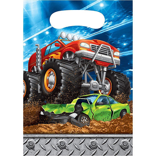 Monster Truck Party Favor Kit for 8 Guests Image #3