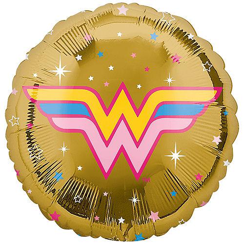 Gold Wonder Woman 2 Balloon Image #1