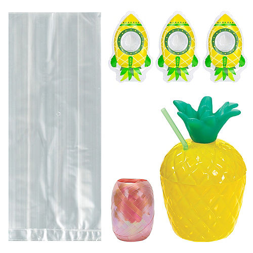 Pineapple Party Favor Kit for 8 Guests Image #1