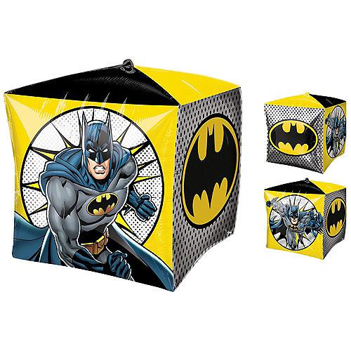 Black & Yellow Batman Balloon - Cubez Image #1