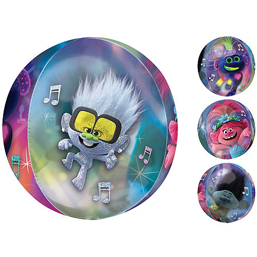 Trolls 2 Balloon - Orbz Image #1