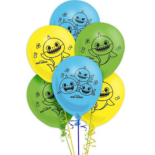 Baby Shark Balloon Kit Image #2