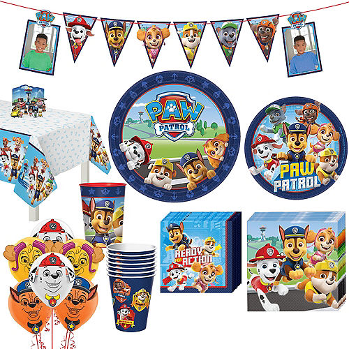 PAW Patrol Adventure Tableware Kit for 8 Guests Image #1