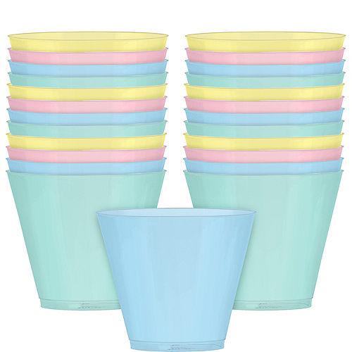 Pretty Pastels Plastic Tumblers 12ct Image #1