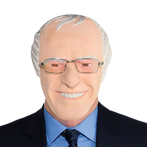 Old Man Feel the Bern Face Mask Image #1