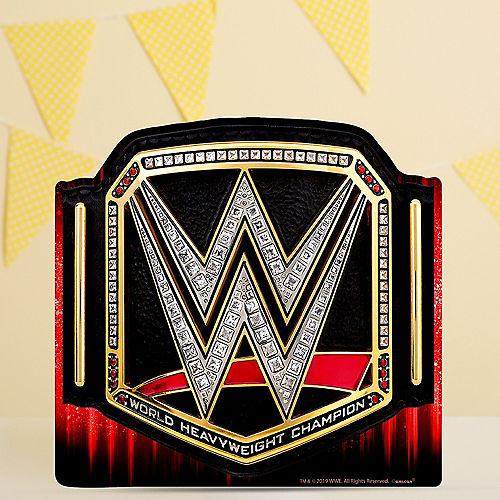 WWE Heavyweight Champion Belt Centerpiece Cardboard Cutout, 11.5in x 11in Image #1