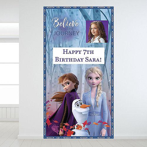 Custom Frozen 2 Photo Backdrop Image #1