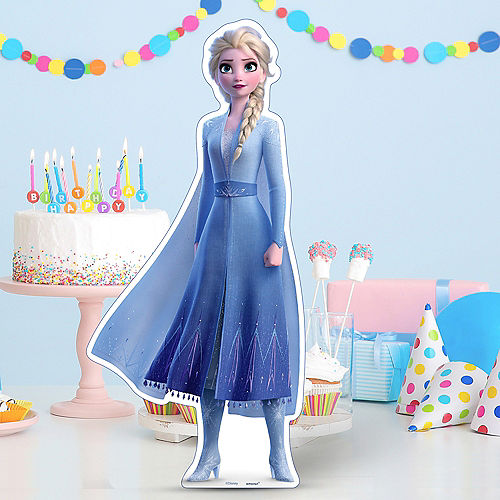 Elsa Centerpiece Cardboard Cutout, 18in - Frozen 2 Image #1