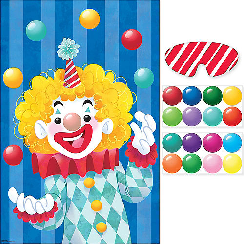 Clown Party Game Image #1