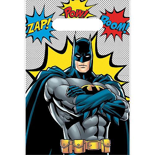 Justice League Heroes Unite Batman Favor Bags 8ct Image #1