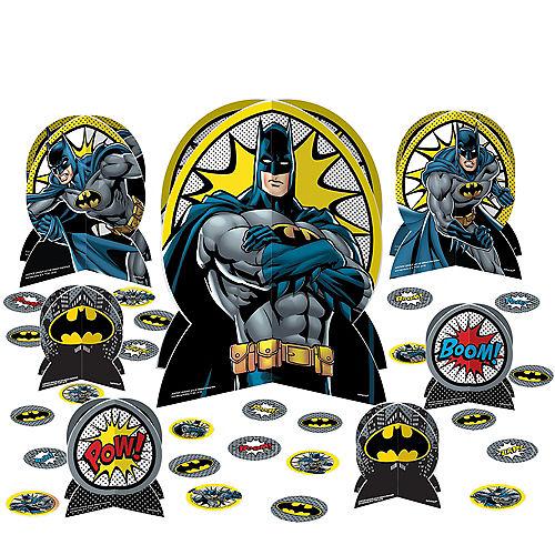 Justice League Heroes Unite Batman Table Decorating Kit 27pc Image #1