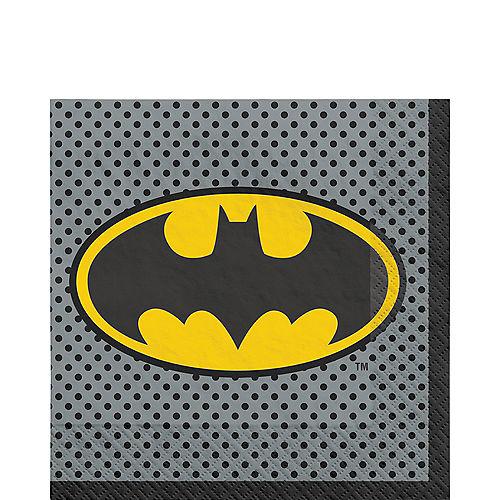 Justice League Heroes Unite Batman Lunch Napkins 16ct Image #1