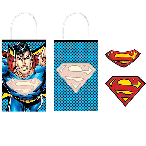 Justice League Heroes Unite Create Your Own Favor Bag Kit 8ct Image #3