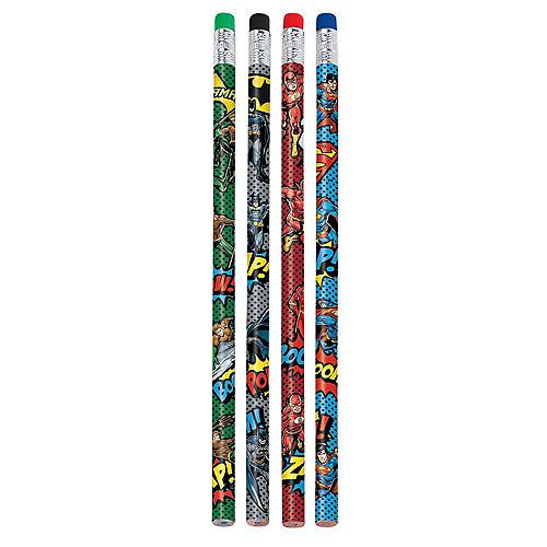 Justice League Heroes Unite Pencils 8ct Image #1