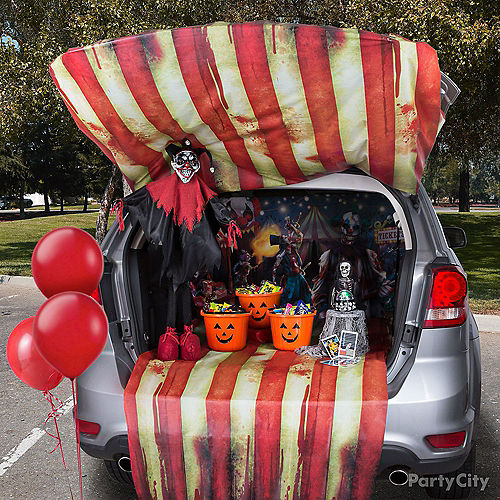 Creepy Carnival Trunk-or-Treat Car Decorating Kit Image #1