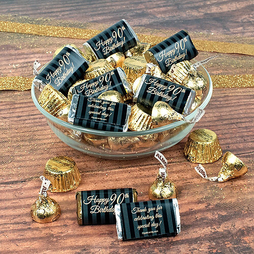 Milestone 90th Birthday Hershey's Chocolate Mix 180pc Image #1