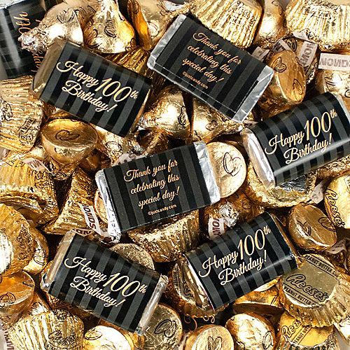 Milestone 100th Birthday Hershey's Chocolate Mix 180pc Image #2