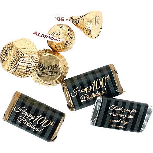 Milestone 100th Birthday Hershey's Chocolate Mix 180pc Image #3