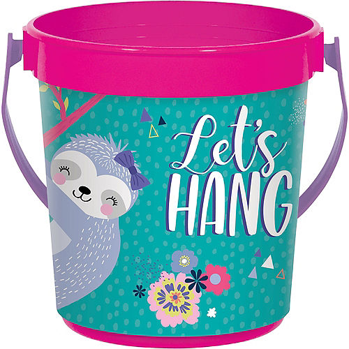 Sloth Party Favor Container Image #1