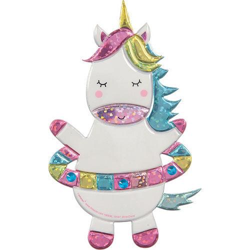 Hula Hoop Unicorn Sticker Image #1