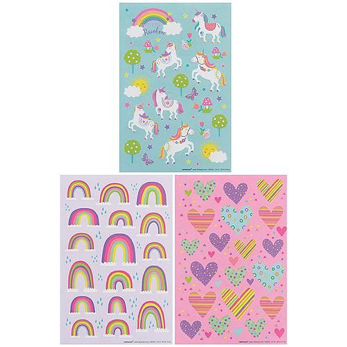 Unicorn Utopia Stickers, 12 Sheets Image #1