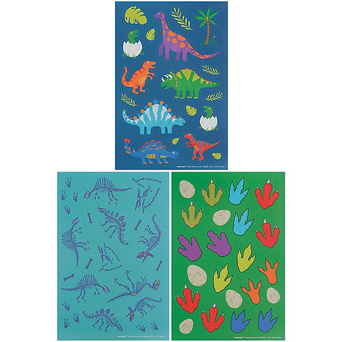 Dinosaur Discovery Stickers, 12 Sheets Image #1