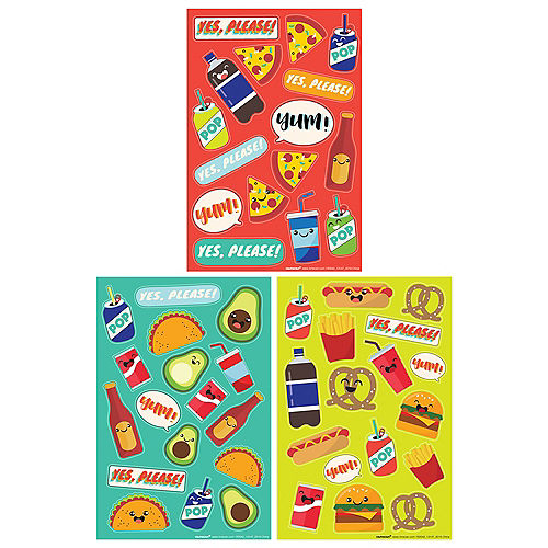 Summer Comfort Food Stickers, 12 Sheets Image #1