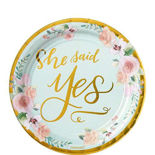 Mint to Be Bridal Shower Tableware Kit for 50 Guests Image #2