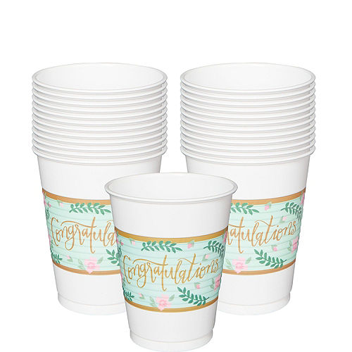 Mint to Be Bridal Shower Tableware Kit for 50 Guests Image #6