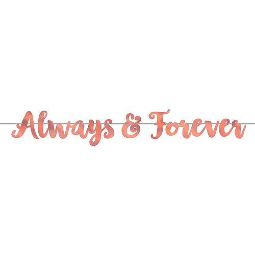 Navy & Rose Gold Always & Forever Decorating Kit Image #2
