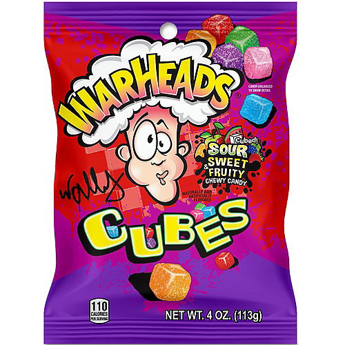 Warheads Chewy Cubes Image #1