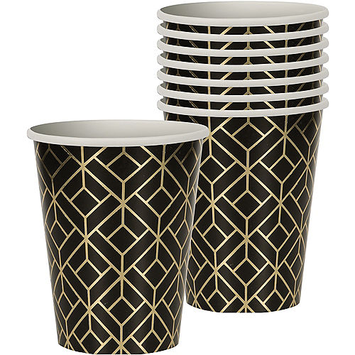 Metallic Roaring 20s Cups 8ct Image #1