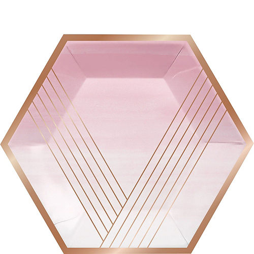 Rosé All Day Metallic Lunch Kit for 16 Guests Image #3