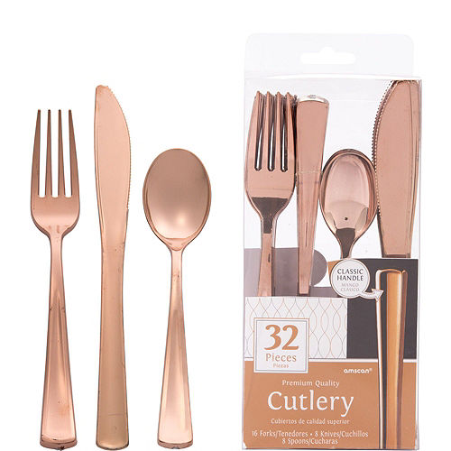 Rosé All Day Metallic Lunch Kit for 16 Guests Image #6