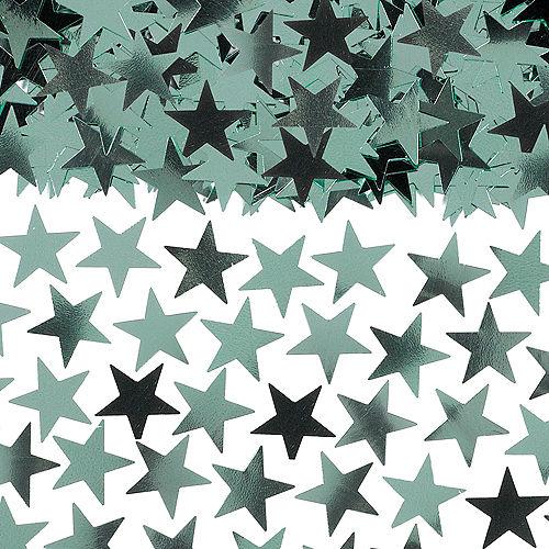 Metallic Cool Mint Star Confetti Image #1