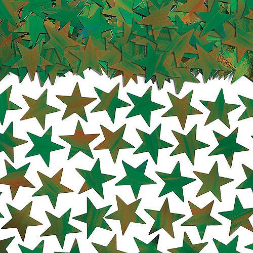 Metallic Oil Slick Star Confetti Image #1