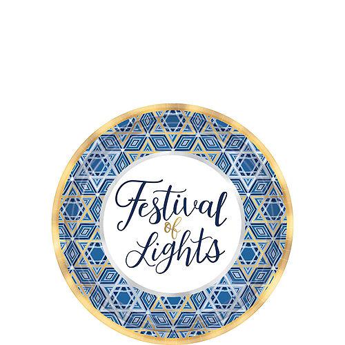 Festival Of Lights Hanukkah Tableware Kit for 54 Guests Image #2