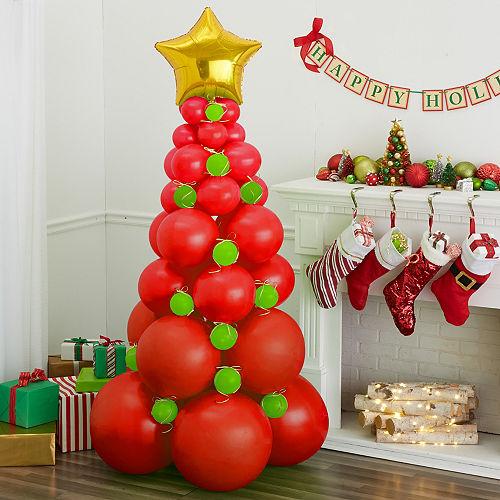 Red Balloon Christmas Tree Kit Image #1