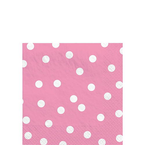 Pink Confetti Beverage Napkins 16ct Image #1